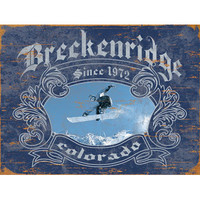 Personalized Snowboarder Wood Sign