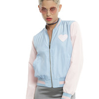 Melanie Martinez Cry Baby Satin Bomber Jacket