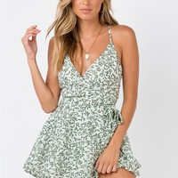 The Redbone Playsuit | Princess Polly
