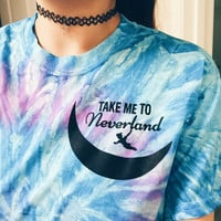 Take Me To Never Land Tie Dye T-Shirt