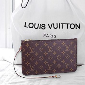 LV Fashion Wallet Women Louis Vuitton Wrist bag Monogram