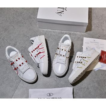 VALENTINO Women's Leather Sneakers Shoes