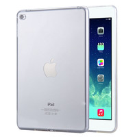 Top Quality Crystal Clear TPU Silicone Back Case For iPad Mini 4 Fashion Transparent Smart Cover For iPad 4 Mini Tablets Simple