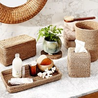 Crochet Weave Bath Accessories