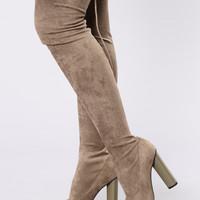 Pump It Up Boot - Olive