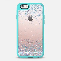 Frosty Sparkles Transparent iPhone 6s case by Organic Saturation | Casetify