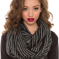 Easton Infinity Scarf - Black