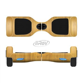 The Real Light Bamboo Wood Full Body Skin Set for the Smart Drifting SuperCharged Transportation iiRov