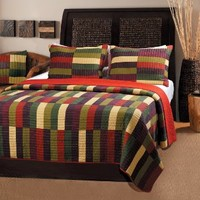 Greenland Home 3-Piece Jubilee Quilt Set, King