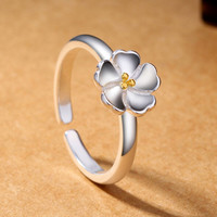 925 silver Floral Ring