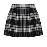 alice + olivia | FIZER BOX PLEAT SKIRT