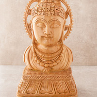 Lord Buddha Wooden Table Decor