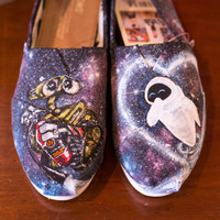Custom hand painted Disney Toms- made to order!