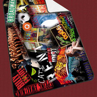 Broadway The Musical Collage for Kids Blanket, Fleece Blanket Cute and Awesome Blanket for your bedding, Blanket fleece**