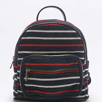 Navy Striped Mini Backpack - Urban Outfitters