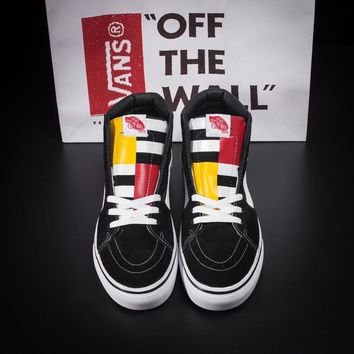 """Vans Classics """"1966"""" Ankle Boots Old Skool Canvas Flat Sneakers Sport Shoes"""
