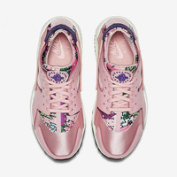 """NIKE"" Women Casual Running Sport Shoes Sneakers Pink floral"