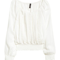 Puff Blouse - from H&M