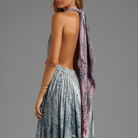 Blu Moon Wrap Skirt Dress in Serpentine from REVOLVEclothing.com