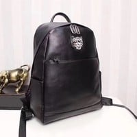 PP PHILIPP PLEIN LEATHER CASUAL BACKPACK TRAVEL BAG