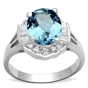 Cheap Sterling Silver Rings LOS658 Silver 925 Sterling Silver Ring