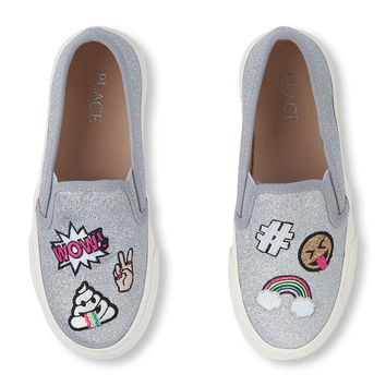 Girls Patch Slip-On Sneaker | The Children's Place
