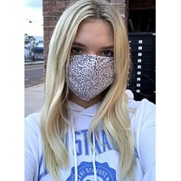 Leopard Washable Masks - Adults and Kids