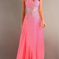 2013 New Strapless Prom Dresses with Beading