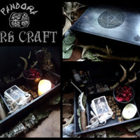 Altar box, Dark Witchcraft