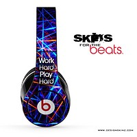 Work Hard Play Hard Strobe Skin for the Beats by Dre