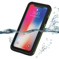 Waterproof case For iPhone Xs Max/Xr Dustproof Underwater Drop-proof Dirtproof Snow-proof Full Sealed Cover For iPhone Xr/Xs Max