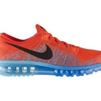 Nike Flyknit Air Max Men's Running Shoes - Bright Crimson