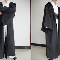 Halloween Anime Star Wars Costume Unisex Adult Hooded Robe Jedi Knight Cosplay Darth Vader Cloak Cape for Men S-2XL