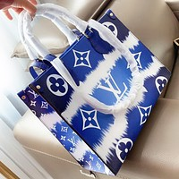 Hipgirls LV Louis Vuitton Fashion New Monogram Print Leather Shoulder Bag Crossbody Bag Handbag
