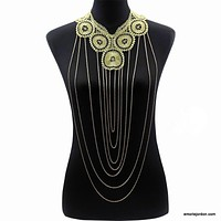 Lace & Chains Body Chain