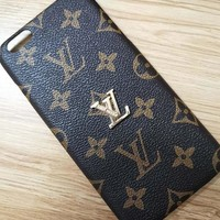 LV Fashion Print iPhone Phone Cover Case For iphone 6 6s 6plus 6s-plus 7 7plus