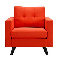 Uma Armchair Retro Orange