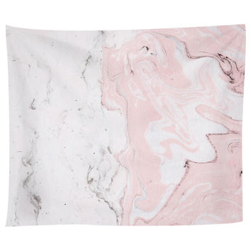Pink Marble Tapestry