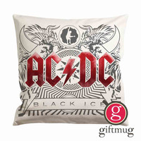 ACDC Black Ice Cushion Case / Pillow Case
