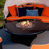 Absolute Black Fire Table