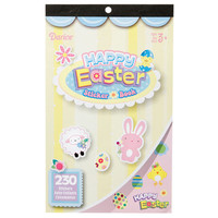 ConsumerCrafts Product Happy Easter Sticker Book - 230 Stickers