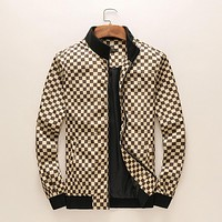 LV tide brand fashion men and women casual jacket  F-A00FS-GJ