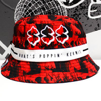 SPXRK | Fully Paid Bucket Hat (Red)