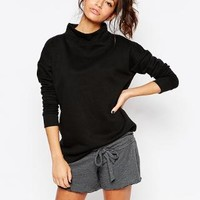 New Look | New Look Funnel Neck Sweat at ASOS