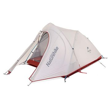 Naturehike Cirrus 2 Person Camping Tent Lightweight Waterproof Backpacking Tent Grey