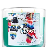 3-Wick Candle Alpine Cheer