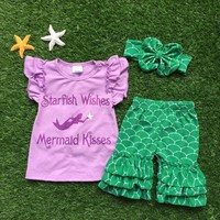 Starfish Wishes, Mermaid Kisses Short Set