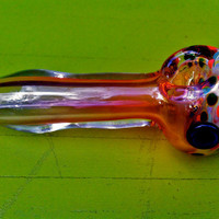 SALE- Gorgeous Super Thick Color Changing Glass Pipe