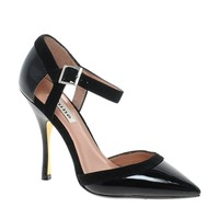 Dune Caletta Pointed Ankle Strap Shoes