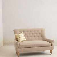 Astrid Settee by Anthropologie Oatmeal One Size Furniture